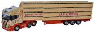 Oxford 76SCA02LT SCA02LT 1/76 OO  Scania Houghton Parkhouse Livestock Transporter Ian S Roger
